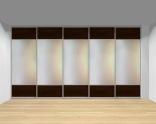 Drzwi przesuwne szerokość 401 - 450 cm 4045d12x5