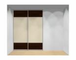 Drzwi przesuwne szerokość 181 - 210 cm 1821d11x2