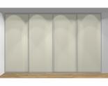 Drzwi przesuwne szerokość 351 - 400 cm 3540d1x4