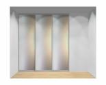 Drzwi przesuwne szerokość 211 - 240 cm 2124d4x3