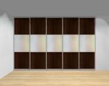 Drzwi przesuwne szerokość 351 - 400 cm 3540d19x5
