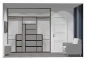 Wnętrze szafy szer. 211 - 240 cm