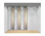 Drzwi przesuwne szerokość 181 - 210 cm 1821d4x3