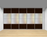 Drzwi przesuwne szerokość 401 - 450 cm 4045d17x5