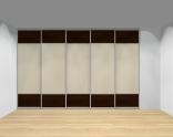 Drzwi przesuwne szerokość 351 - 400 cm 3540d13x5