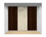 Drzwi przesuwne szerokość 271 - 310 cm 2731d6x3